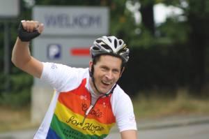 Herman fietst verder