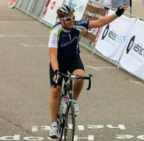 Jeffrey fietst verder